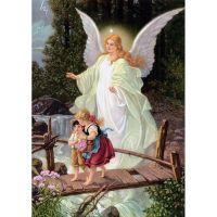 Дети и ангел
