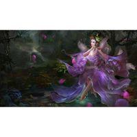 Цветочная фея играет