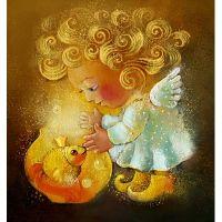 Ангелок и рыбка. Анна Иванчина