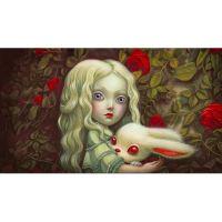 Алиса в стране чудес. Иллюстрация Лакомба Бенжамена