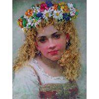 Головка девочки - Маковский Константин.