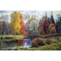 Поздняя осень в Гатчинском парке