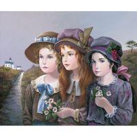 Прелестные девочки американской художницы Pati BANNISTER.