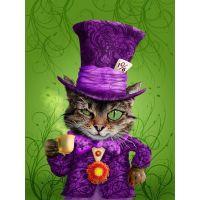 Чеширский кот в шляпе