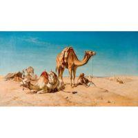 Привал в пустыне.William Luker
