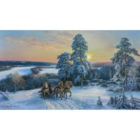 Зима на Оке. Михаил Сатаров