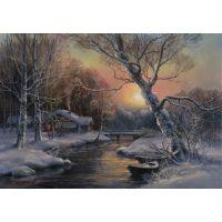 Зимний пейзаж. Михаил Сатаров