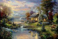 Уютный дом рыбака